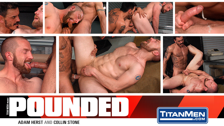 Pounded: Scene 3: Adam Herst & Collin Stone