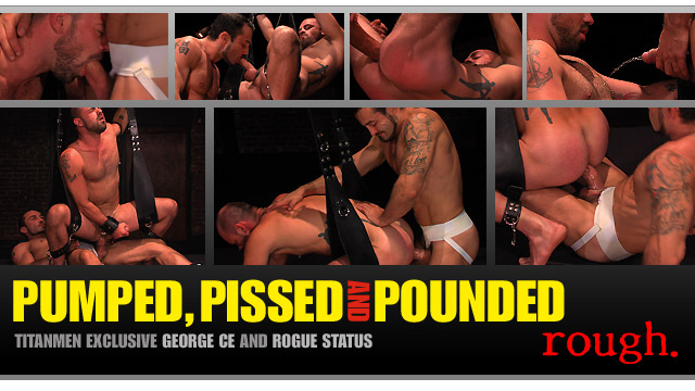 Pumped, Pissed and Pounded: Scene 2: George Ce & Rogue Status