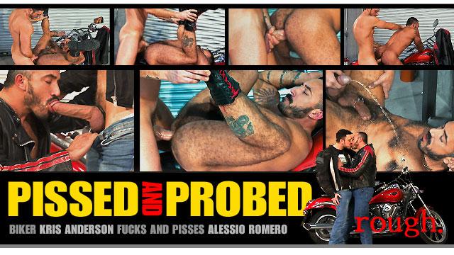 Pissed and Probed: Scene 3: Alessio Romero & Kris Anderson